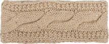 styleBREAKER Stirnband Grobstrick mit Zopfmuster und Pailletten, warmes Fleece Innenfutter, Haarband, Headband, Damen 04026002 – Bild 14