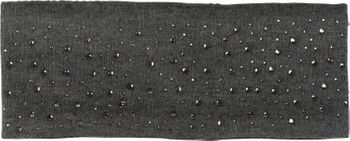 styleBREAKER Stirnband Feinstrick mit Strass Nieten Applikation und weichem Fleece Innenfutter, Haarband, Headband, Damen 04026003 – Bild 8