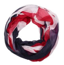 styleBREAKER loop tube scarf or shawl in the Union Jack, British flag design 01014036 – Bild 2