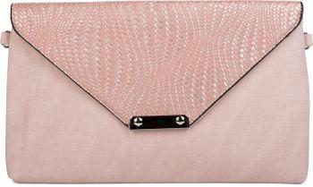 styleBREAKER Envelope Clutch Tasche mit Flecht Optik am Umschlag, Handschlaufe, Umhängegurt, Abendtasche, Damen 02012184 – Bild 4