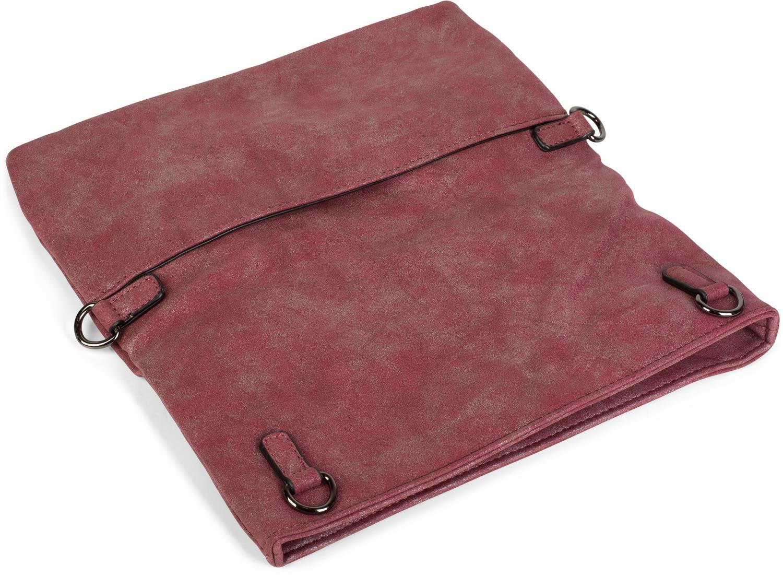 fold over clutch in wildleder optik 3 in 1 tasche schultertasche damen ebay. Black Bedroom Furniture Sets. Home Design Ideas