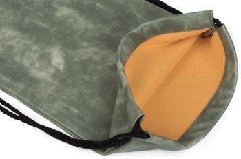 styleBREAKER Turnbeutel aus Kunstleder, Rucksack, Sportbeutel, Beutel, Unisex 02012189 – Bild 14