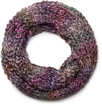 styleBREAKER high-quality colourful chunky knit tube scarf in oft quality, multicoloured 01018127 – Bild 11