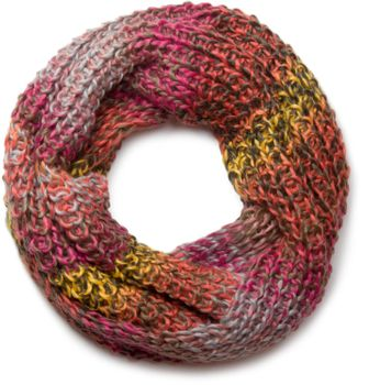 styleBREAKER high-quality colourful chunky knit tube scarf in oft quality, multicoloured 01018127 – Bild 7