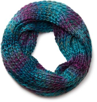 styleBREAKER high quality colorful chunky knit loop tube scarf in soft and fluffy quality, multicolor 01018127 – Bild 3