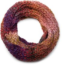 styleBREAKER high-quality colourful chunky knit tube scarf in oft quality, multicoloured 01018127 – Bild 1