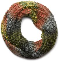 styleBREAKER high quality colorful chunky knit loop tube scarf in soft and fluffy quality, multicolor 01018127 – Bild 8