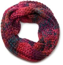 styleBREAKER high quality colorful chunky knit loop tube scarf in soft and fluffy quality, multicolor 01018127 – Bild 6