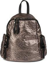 styleBREAKER Rucksack Handtasche in Metallic Stepp Optik und Reißverschluss, Tasche, Damen 02012199 – Bild 1