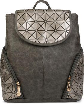 styleBREAKER Rucksack Handtasche mit geometrischem Prisma Design, Tasche, Damen 02012198 – Bild 22