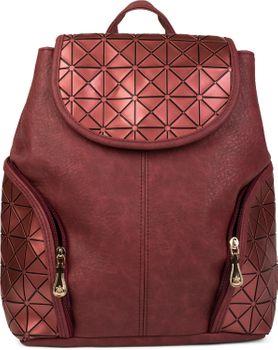 styleBREAKER Rucksack Handtasche mit geometrischem Prisma Design, Tasche, Damen 02012198 – Bild 13