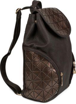 styleBREAKER Rucksack Handtasche mit geometrischem Prisma Design, Tasche, Damen 02012198 – Bild 17