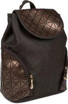 styleBREAKER Rucksack Handtasche mit geometrischem Prisma Design, Tasche, Damen 02012198 – Bild 7