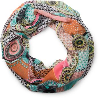 styleBREAKER ethno points African style loop tube scarf 01016014 – Bild 9
