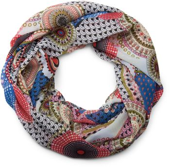styleBREAKER ethno points African style loop tube scarf 01016014 – Bild 5