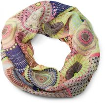 styleBREAKER ethno points African style loop tube scarf 01016014 – Bild 13