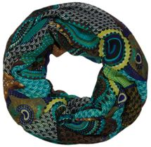 styleBREAKER ethno points African style loop tube scarf 01016014 – Bild 2