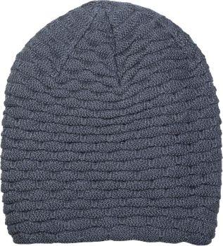 styleBREAKER warme Feinstrick Beanie Mütze mit Wellen Strickmuster, Fleece Innenfutter, Slouch Longbeanie, Unisex 04024122 – Bild 10