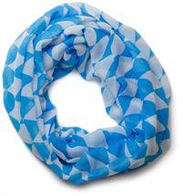 styleBREAKER Bavarian diamonds pattern loop tube scarf, dirndl and costume cloth, unisex 01016060 – Bild 1