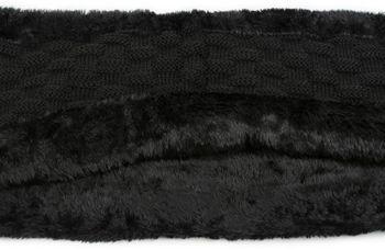 styleBREAKER warmer Feinstrick Loop Schal mit Flecht Muster und sehr weichem Fleece Innenfutter, Schlauchschal, Unisex 01018150 – Bild 19