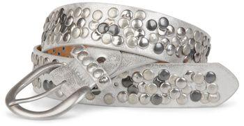 styleBREAKER studded belt with genuine leather in vintage style, shortened 03010024 – Bild 14