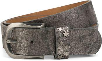 styleBREAKER Gürtel mit Stern Nieten an der Schließe, Nietengürtel, kürzbar, Unisex 03010082 – Bild 7