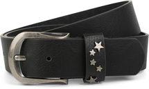 styleBREAKER Gürtel mit Stern Nieten an der Schließe, Nietengürtel, kürzbar, Unisex 03010082 – Bild 2