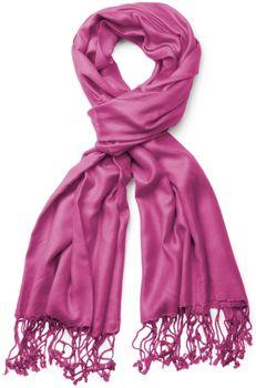 styleBREAKER Stola Schal, Tuch mit Fransen in vielen verschiedenen Farben, Unisex 01012035 – Bild 7