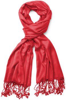 styleBREAKER Stola Schal, Tuch mit Fransen in vielen verschiedenen Farben, Unisex 01012035 – Bild 9