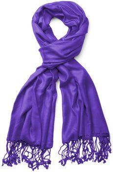 styleBREAKER Stola Schal, Tuch mit Fransen in vielen verschiedenen Farben, Unisex 01012035 – Bild 1