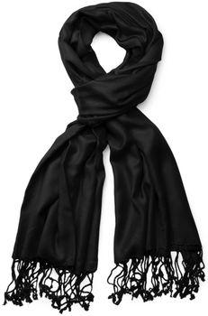 styleBREAKER Stola Schal, Tuch mit Fransen in vielen verschiedenen Farben, Unisex 01012035 – Bild 23