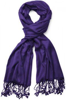 styleBREAKER Stola Schal, Tuch mit Fransen in vielen verschiedenen Farben, Unisex 01012035 – Bild 36