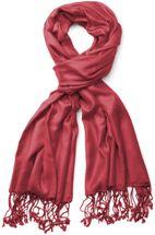 styleBREAKER Stola Schal, Tuch mit Fransen in vielen verschiedenen Farben, Unisex 01012035 – Bild 2
