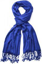styleBREAKER Stola Schal, Tuch mit Fransen in vielen verschiedenen Farben, Unisex 01012035 – Bild 35