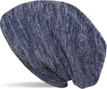 styleBREAKER Feinstrick Beanie Mütze in Melange Optik, Slouch Longbeanie, Unisex 04024128 – Bild 1