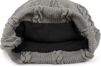 styleBREAKER warme Feinstrick Beanie Mütze mit Zopfmuster und Fleece Innenfutter, Slouch Longbeanie, Unisex 04024131 – Bild 36