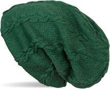 styleBREAKER warme Feinstrick Beanie Mütze mit Zopfmuster und Fleece Innenfutter, Slouch Longbeanie, Unisex 04024131 – Bild 5