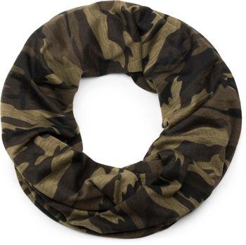 styleBREAKER Loop Schal mit Camouflage Muster, Schlauchschal, Tuch, Unisex 01017069 – Bild 1