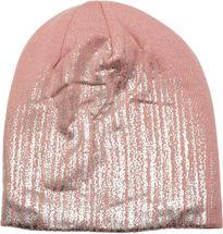 styleBREAKER warme Feinstrick Beanie Mütze mit Metallic Print und Fleece Innenfutter, Slouch Longbeanie, Unisex 04024132 – Bild 38