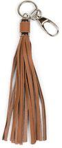 styleBREAKER Schlüsselanhänger aus Echtleder mit Karabiner, Quaste, Fransen, Damen 05050053 – Bild 4