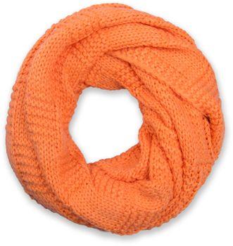 styleBREAKER Strick Loop Schal mit Patentmuster, Uni Feinstrick Schlauchschal, Winter Strickschal, Unisex 01018152 – Bild 13