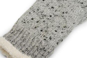 styleBREAKER warme Handschuhe mit Strass und Fleece, Winter Strickhandschuhe, Damen 09010010 – Bild 23