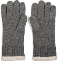 styleBREAKER warme Handschuhe mit Strass und Fleece, Winter Strickhandschuhe, Damen 09010010 – Bild 36