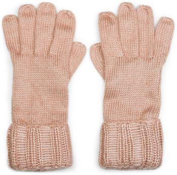 styleBREAKER Damen warme glänzende Handschuhe mit doppeltem Bund, Winter Strickhandschuhe, Fingerhandschuhe, Glitzer 09010011 – Bild 5