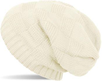 styleBREAKER Strick Beanie Mütze mit Patent Muster, Slouch Longbeanie, Unisex 04024137 – Bild 7