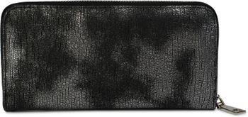 styleBREAKER Geldbörse mit genarbter Oberfläche im Antik Metallic Look, umlaufender Reißverschluss, Portemonnaie, Damen 02040091 – Bild 4