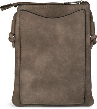 styleBREAKER Mini Bag Umhängetasche mit Zick-Zack Cutout und Nieten, Schultertasche, Handtasche, Tasche, Damen 02012211 – Bild 9
