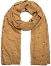 styleBREAKER edler weicher Schal mit Perlen Applikation, Winter Schal, Stola, Tuch, Damen 01017074 – Bild 1