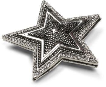 styleBREAKER Stern Magnet Schmuck Anhänger mit Strass, für Schals, Tücher oder Ponchos, Brosche Damen 05050059 – Bild 4