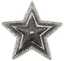 styleBREAKER Stern Magnet Schmuck Anhänger mit Strass, für Schals, Tücher oder Ponchos, Brosche Damen 05050059 – Bild 1
